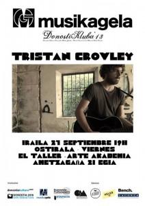 Tristan Crowley en el TALLER de Egia