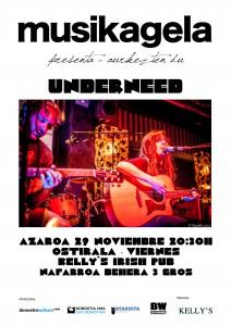 Underneed en KELLY´s IRISH PUB